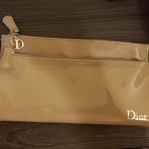 Dior beauty clutch